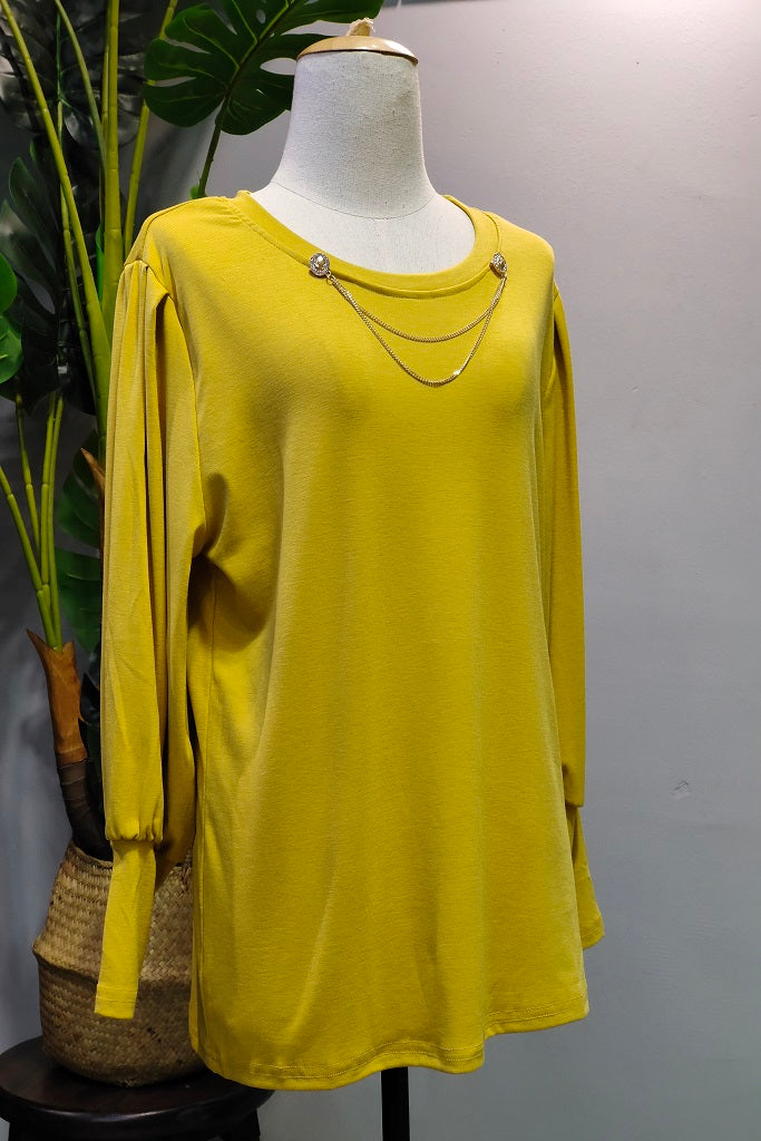 Rosana Top in Yellow