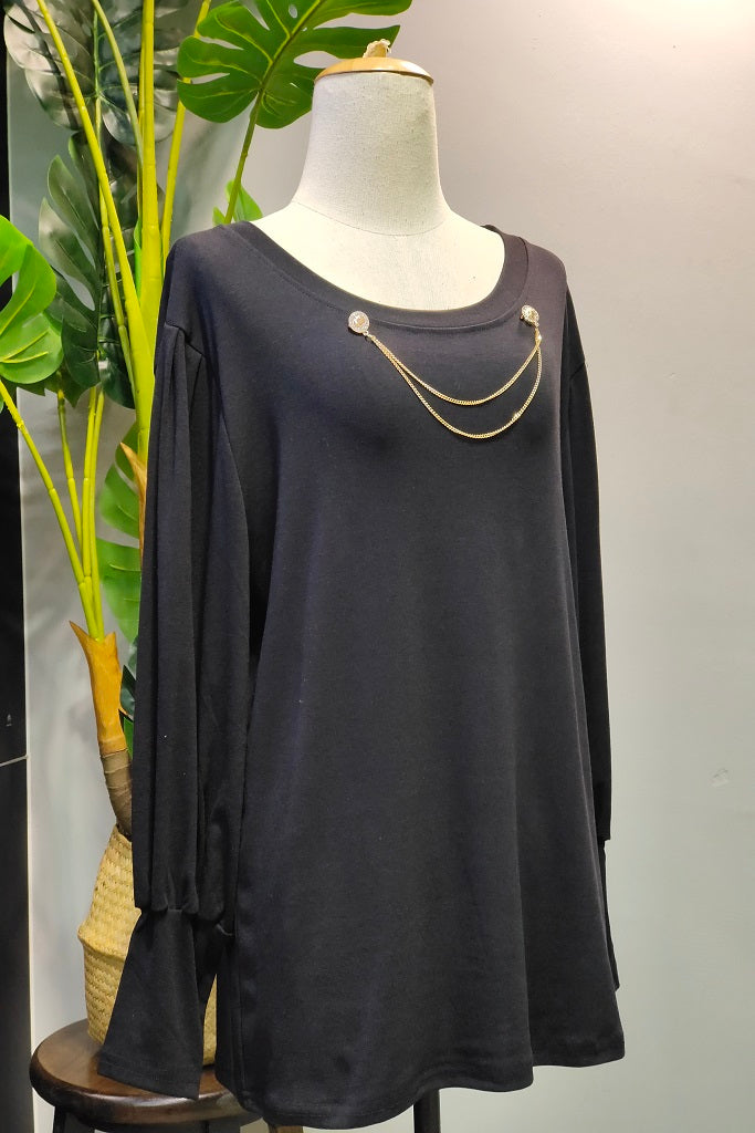 Rosana Top in Black