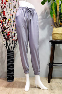 Ariane Jogger Pants in Grey