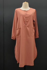 Francesca Tunic in Brown