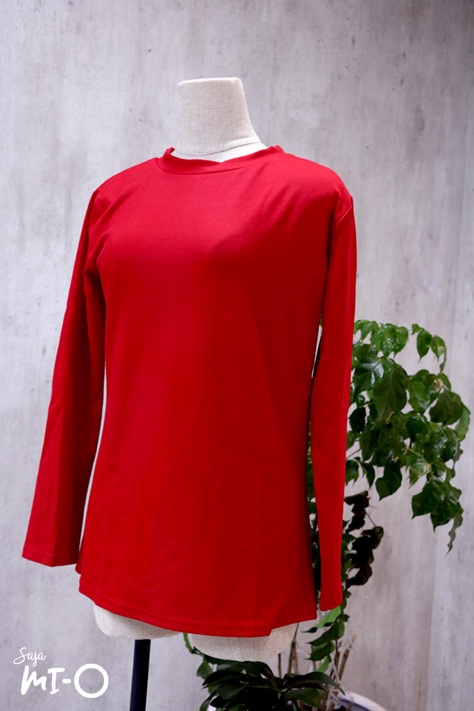 Sheila Basic Top in Red