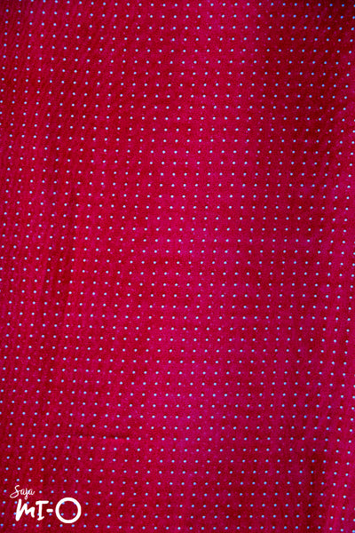 Zoei Mini Dots Headscarf in Red - Saja Mi-O