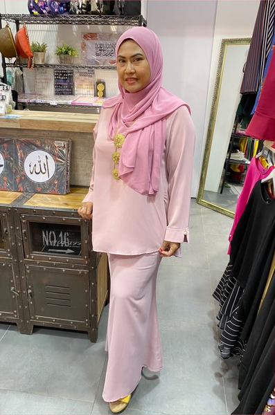 Airin Raya Skirt in Dusty Lilac - Saja Mi-O
