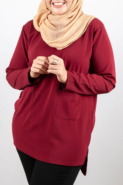 Moana Top in Red