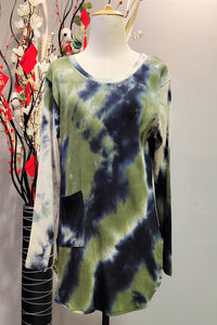 Ciara Slimming Top in Printed 6