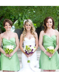 Handmade Bridesmaid Dress,Simple Bridesmaid Dress,Pretty Bridesmaid Dress , A-line Bridesmaid dress ,PD102