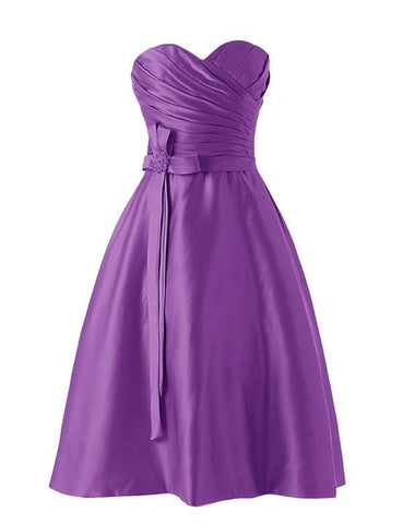 Simple Bridesmaid Dress,Knee-length Bridesmaid Dress,Pretty Bridesmaid Dress,Charming Bridesmaid dress ,PD124
