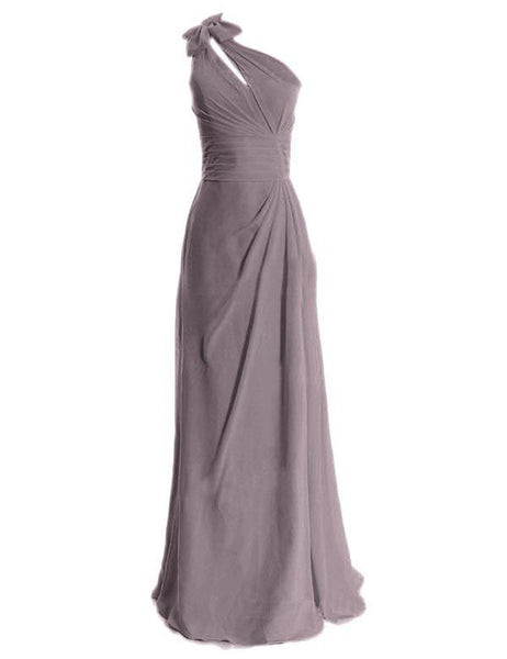 Simple Bridesmaid Dress,One-shoulder Bridesmaid Dress,Pretty Bridesmaid Dress,Charming Bridesmaid dress ,PD126