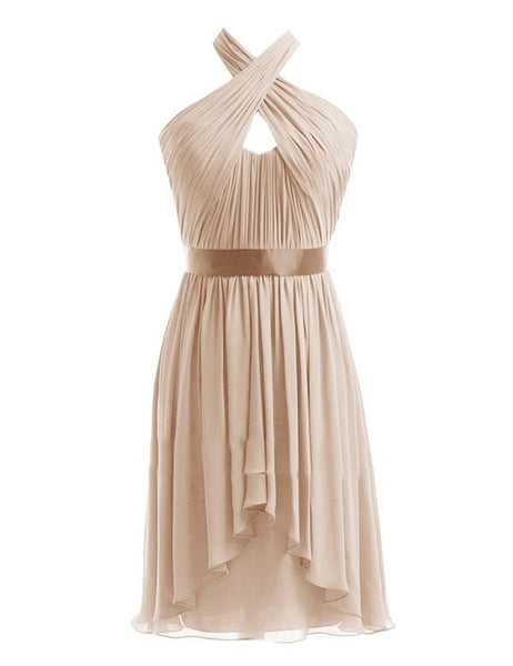 Cutest Bridesmaid Dress,Halter Bridesmaid Dress,Pretty Bridesmaid Dress,Charming Bridesmaid dress ,PD129