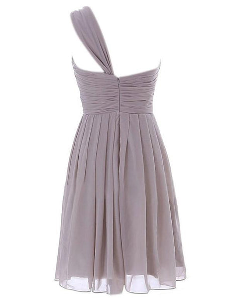 Lovely Bridesmaid Dress,One shoulder Bridesmaid Dress,Pretty Bridesmaid Dress,Charming Bridesmaid dress ,PD130