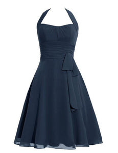 Simple Bridesmaid Dress,Halter Bridesmaid Dress,Pretty Bridesmaid Dress,Charming Bridesmaid dress ,PD137