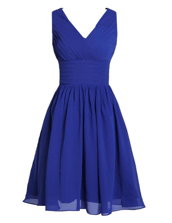 Classic Bridesmaid Dress,V-neck Bridesmaid Dress,Pretty Bridesmaid Dress,Charming Bridesmaid dress ,PD156