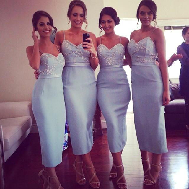 Spaghetti Straps Bridesmaid Dress,Long Bridesmaid Dress,Pretty Bridesmaid Dress,Charming Bridesmaid dress ,PD173