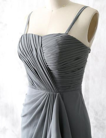 Grey Bridesmaid Dress,Floor-length Bridesmaid Dress,Pretty Bridesmaid Dress,Charming Bridesmaid dress ,PD201