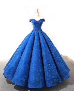 Ball Gown Cape Sleeves Sweetheart Lace Satin Prom Dresses Evening Dresses,MD202052