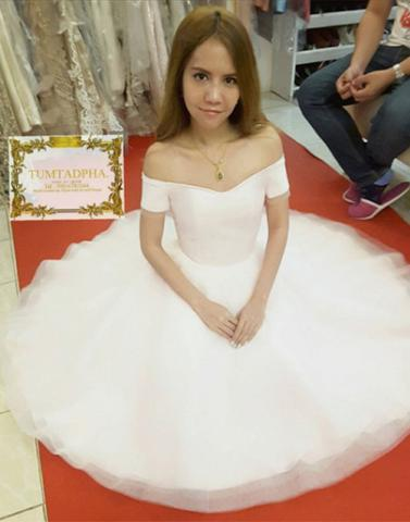 59cf2a6d91 ... white off shoulder short tulle cheap junior cheap homecoming dress