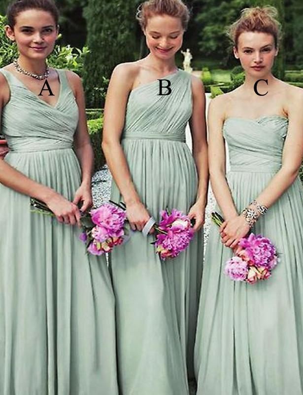 Fashion Bridesmaid Dress,Sweetheart Bridesmaid Dress,Ruffles Bridesmaid Dress,A-line Bridesmaid Dress,Long Bridesmaid Dress, PD62