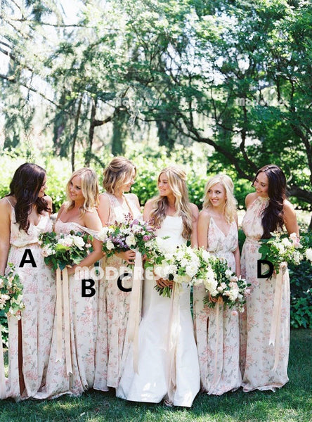 Cheap Long Bridesmaid Dresses A-Line Bridesmaid Dresses