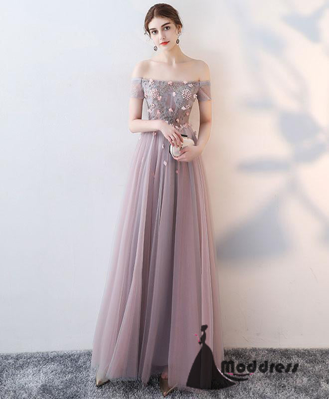 pink prom dress long prom dress formal prom dress – moddress