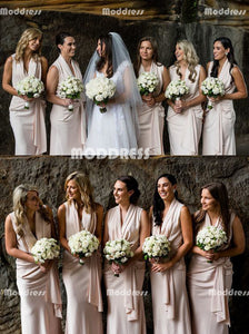 Stylish Long Bridesmaid Dresses Chiffon Bridesmaid Dresses