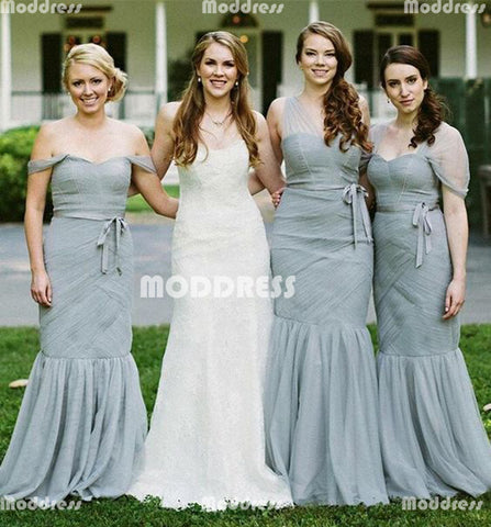 Stylish Long Bridesmaid Dresses Mermaid Bridesmaid Dresses