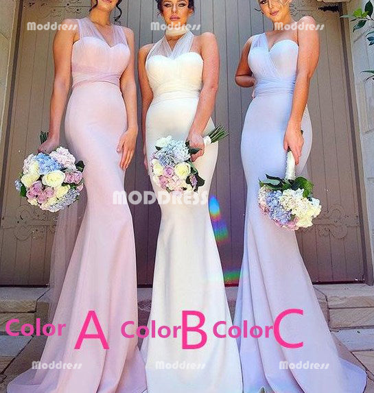 Wrapped Long Bridesmaid Dresses Mermaid Bridesmaid Dresses Sweetheart Bridesmaid Dresses