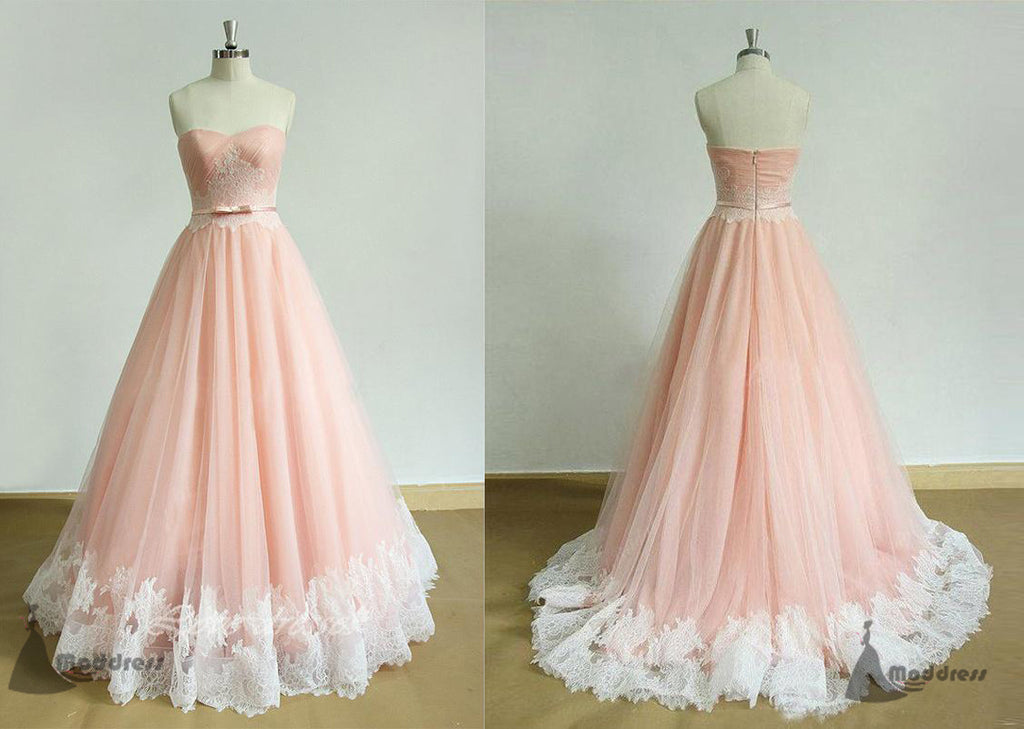 Pink prom dress long prom dress formal prom dress u2013 moddress