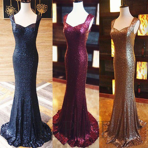 sparkle sequin formal mermaid elegant long prom dress, PD8626