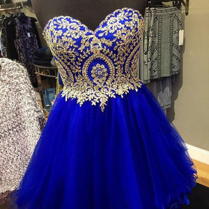 Short prom dresses 2017,cocktail dresses,lace appliques homecoming dresses