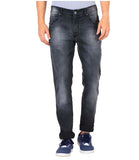 JDC Men's Lightweight Stretch 3D Slim fit Jeans-Dark Grey