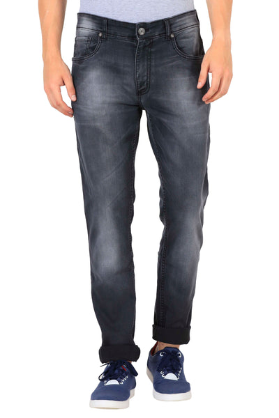 JDC 3D Slim Fit Men Grey Jeans