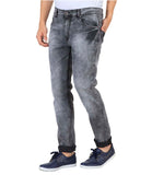 JDC Men's Lightweight Stretch 3D Slim fit Jeans-Light Grey