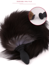 Detachable Fox Fur Tail Butt Plug Adult Toy Anal Cosplay