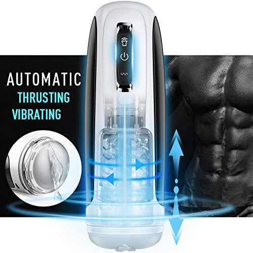 10 Powerful Telescoping&Rotating Automatic Masturbation Cup