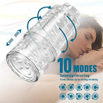 Hands-Free Male Masturbation Cup Automatic Rotating Telescoping
