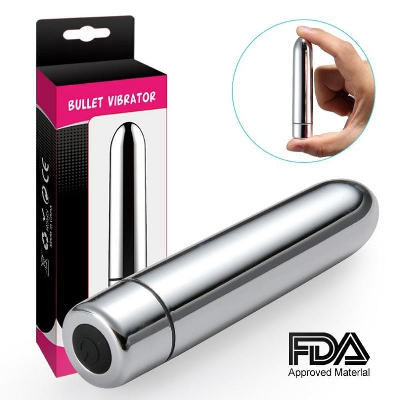 Powerful 7 Frequency Vibration Clitoral Stimulator Small Bullet Vibrator