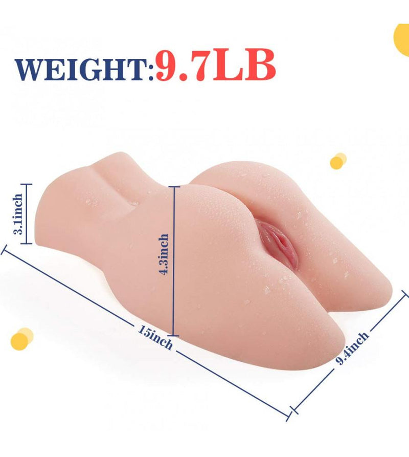 9.7LB 3D Realistic Pussy Ass Curve Sex Doll