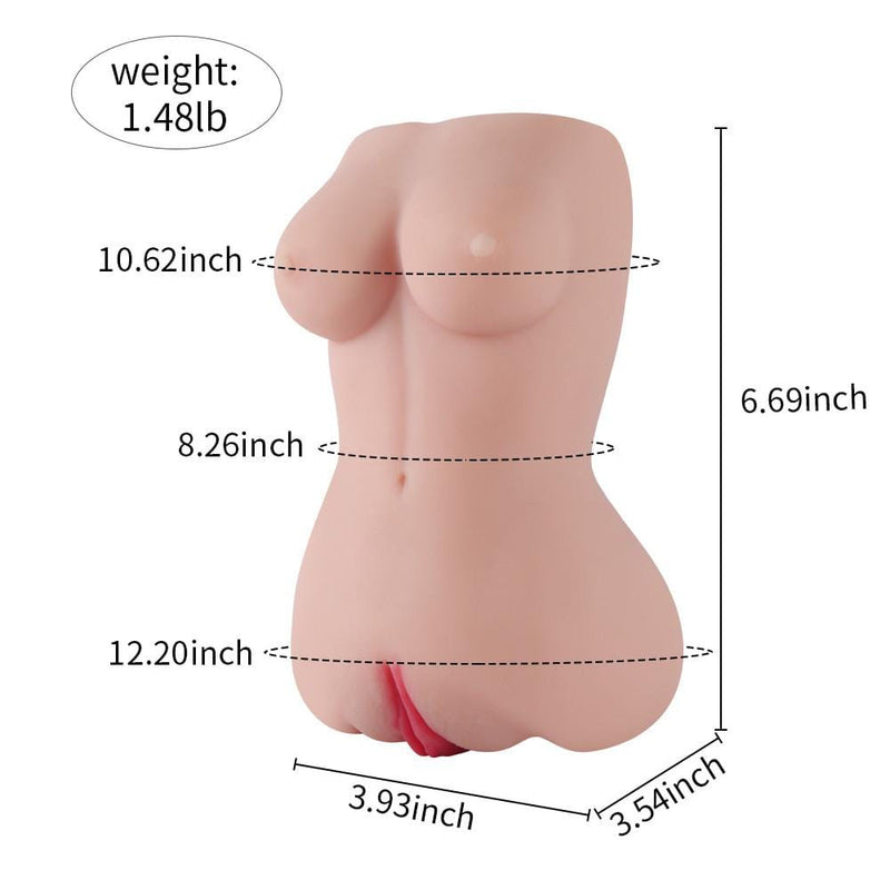 1.5LB Breast Vagina Enterance Pocket Pussy