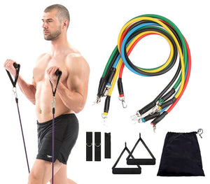 Powerball Resistance Bands Set (11 Piece) - For Real Deals