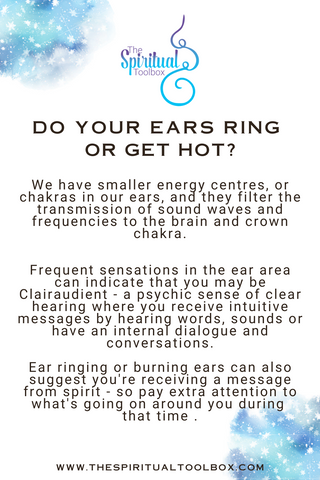 ringing ears, clairaudience psychic skill