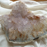Pale Amethyst on agate matrix 3.3kg