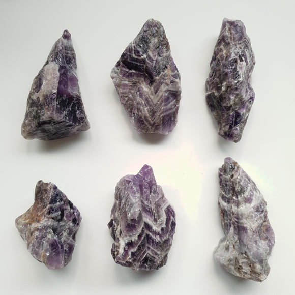 Chevron Amethyst Large