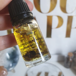 Protection + Banishing Botanical Infused Ritual Oil