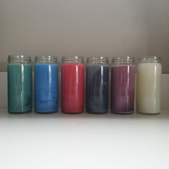7 Day Spell Candle Jars