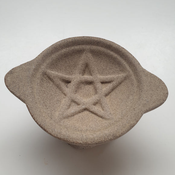 Pentacle Ceramic Charcoal Holder