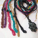 Interchangeable Macrame Necklace