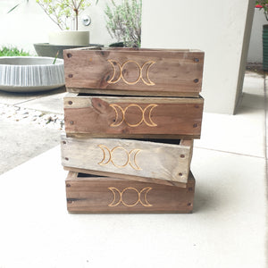 Triple Moon Goddess Box