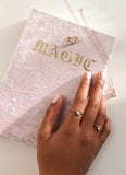 Magic Velvet Journal - Blush Pink