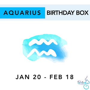 Aquarius Birthday Box