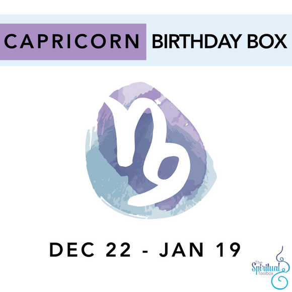 Capricorn Birthday Box